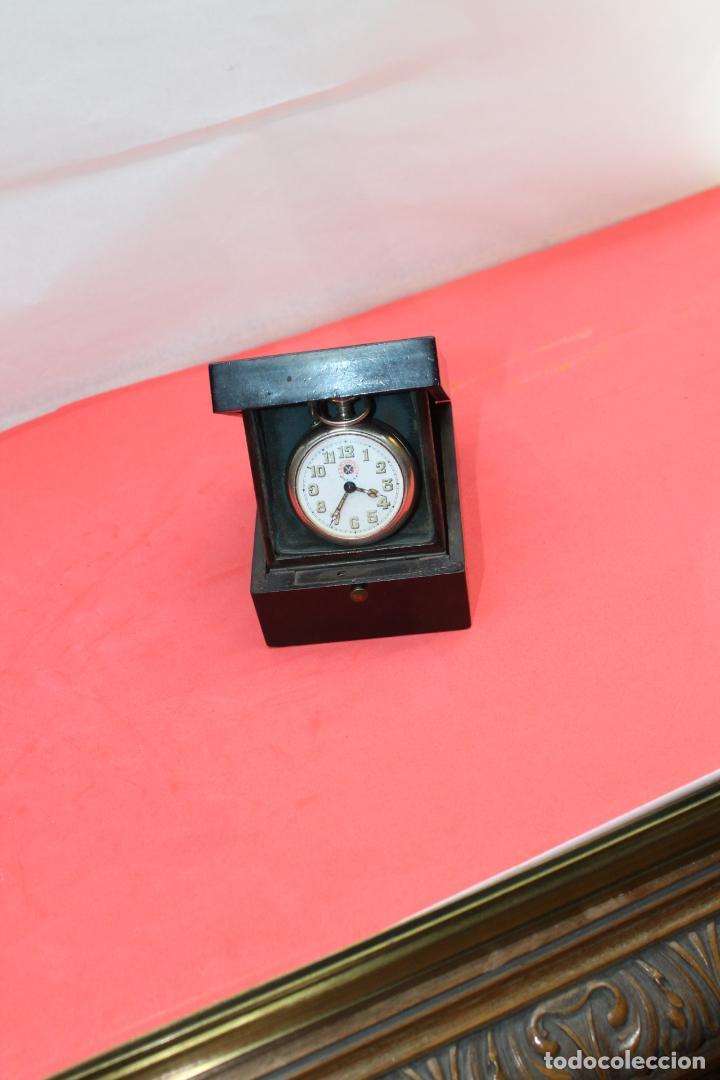 Herramientas de relojes: RELOJERA DE VIAJE CON FORMA DE CAJA EBONIZADA - Foto 8 - 146431738