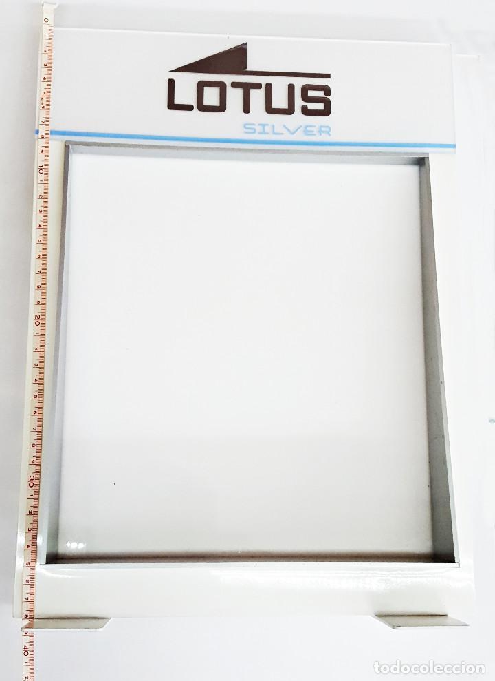 Herramientas de relojes: Display o Marco-Expositor de LOTUS SILVER: - Foto 3 - 147572498