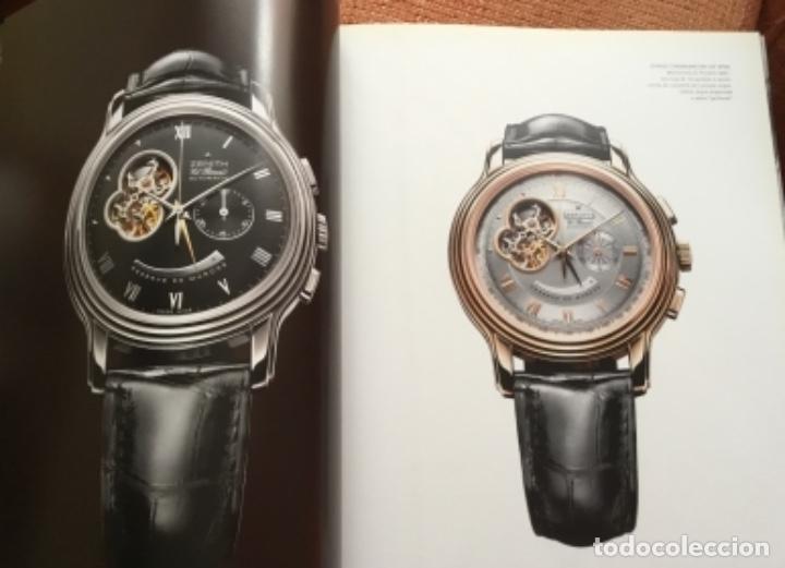 Herramientas de relojes: Libro catálogo relojes zenith perfecto estado nuevo - Foto 5 - 148609314