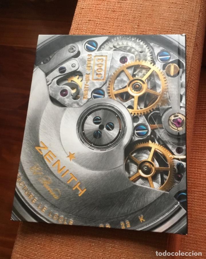 Herramientas de relojes: Libro catálogo relojes zenith perfecto estado nuevo - Foto 7 - 148609314