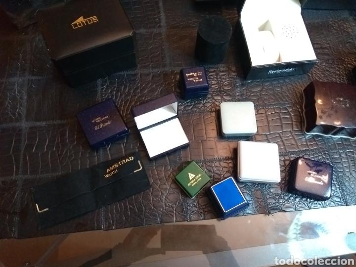 Herramientas de relojes: Lote de cajas de relojes y joyería - Foto 4 - 149519744