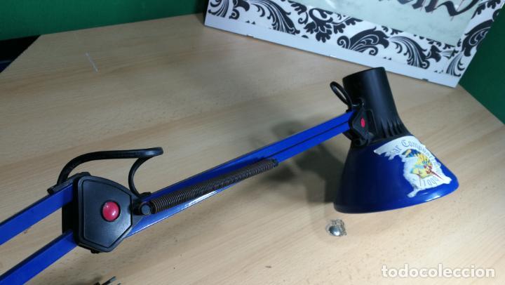 Herramientas de relojes: Lampara foco de trabajo azul, para taller de relojero o relojería - Foto 14 - 152649554