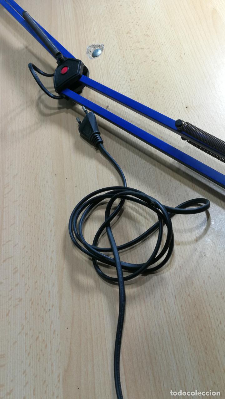 Herramientas de relojes: Lampara foco de trabajo azul, para taller de relojero o relojería - Foto 15 - 152649554