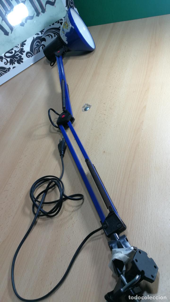 Herramientas de relojes: Lampara foco de trabajo azul, para taller de relojero o relojería - Foto 16 - 152649554