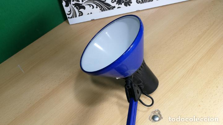 Herramientas de relojes: Lampara foco de trabajo azul, para taller de relojero o relojería - Foto 18 - 152649554