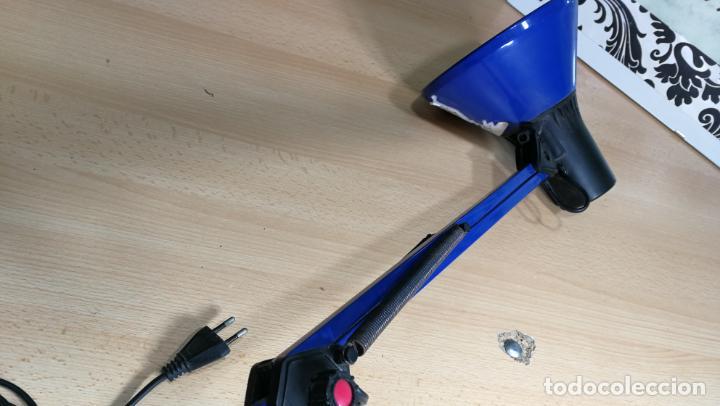 Herramientas de relojes: Lampara foco de trabajo azul, para taller de relojero o relojería - Foto 19 - 152649554