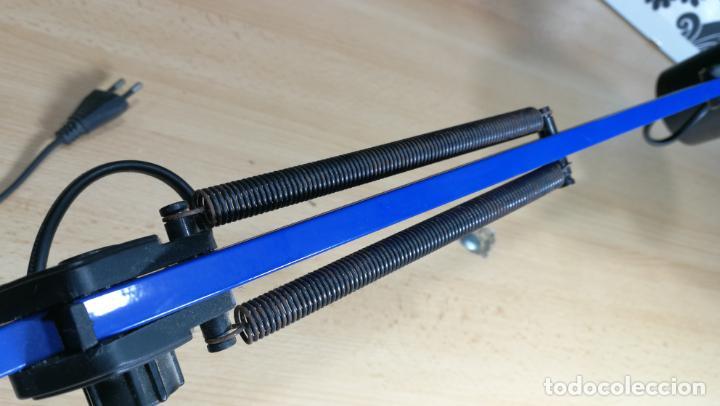 Herramientas de relojes: Lampara foco de trabajo azul, para taller de relojero o relojería - Foto 23 - 152649554