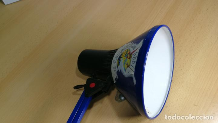 Herramientas de relojes: Lampara foco de trabajo azul, para taller de relojero o relojería - Foto 25 - 152649554