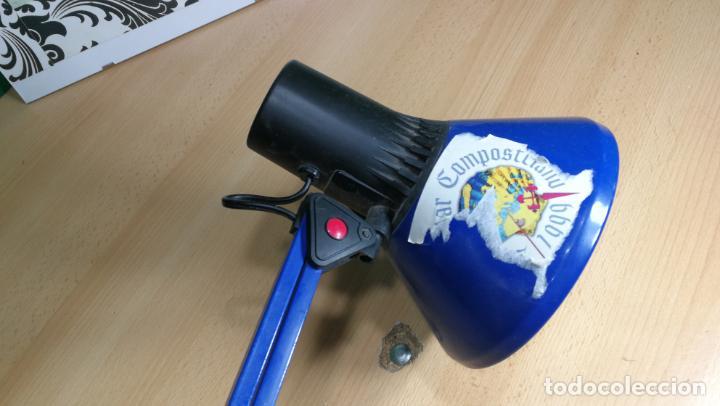 Herramientas de relojes: Lampara foco de trabajo azul, para taller de relojero o relojería - Foto 26 - 152649554