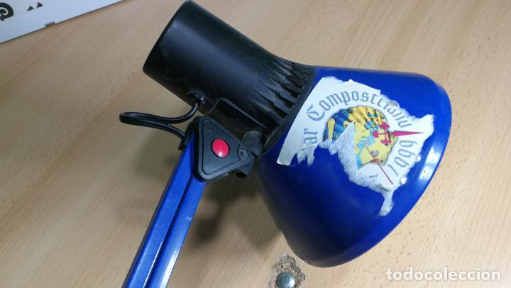 Herramientas de relojes: Lampara foco de trabajo azul, para taller de relojero o relojería - Foto 27 - 152649554