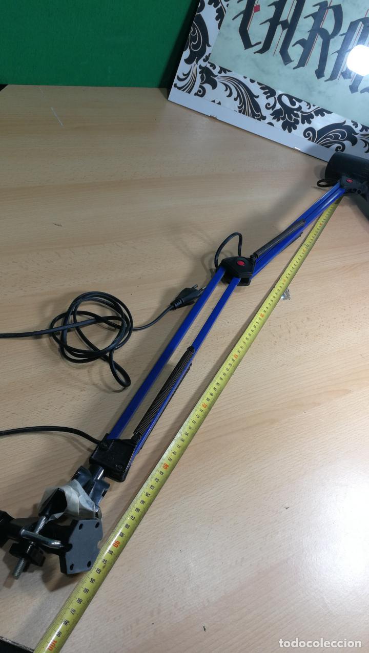 Herramientas de relojes: Lampara foco de trabajo azul, para taller de relojero o relojería - Foto 29 - 152649554