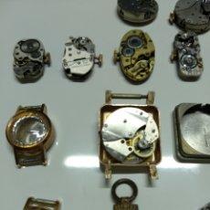 Herramientas de relojes: LOTE 13 MECANISMOS CARGA MANUAL. Lote 153404282