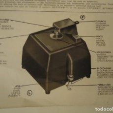 Herramientas de relojes: MULTIMATIC COLOCACIÓN EJES VOLANTE, RECTIFICADO Y PULIDO DE PIVOTES. Lote 155633130