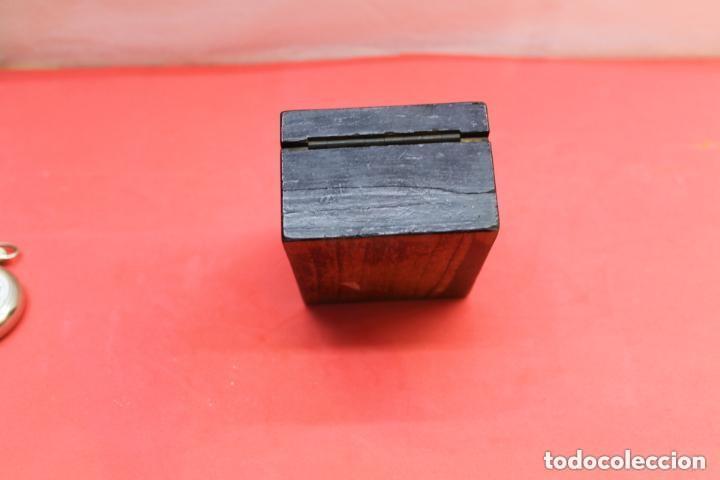 Herramientas de relojes: RELOJERA DE VIAJE INGLESA CON FORMA DE CAJA - Foto 5 - 155655166