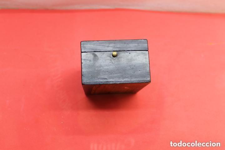 Herramientas de relojes: RELOJERA DE VIAJE INGLESA CON FORMA DE CAJA - Foto 6 - 155655166