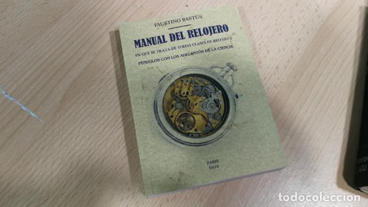 Herramientas de relojes: Tres magníficos libros para el estudiante del reloj y la relojería, tratados de diferentes décadas - Foto 4 - 156734558