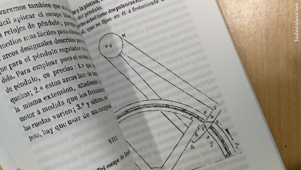 Herramientas de relojes: Tres magníficos libros para el estudiante del reloj y la relojería, tratados de diferentes décadas - Foto 7 - 156734558