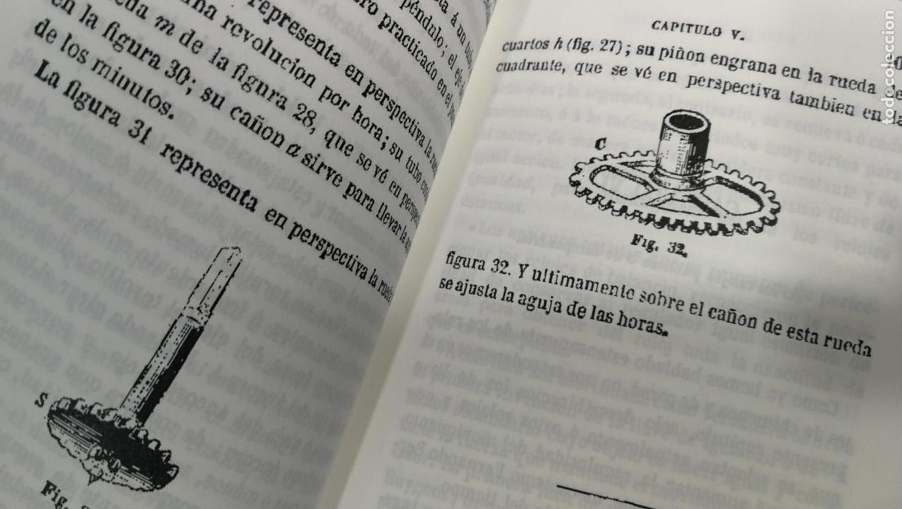 Herramientas de relojes: Tres magníficos libros para el estudiante del reloj y la relojería, tratados de diferentes décadas - Foto 10 - 156734558