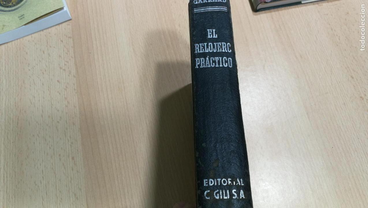 Herramientas de relojes: Tres magníficos libros para el estudiante del reloj y la relojería, tratados de diferentes décadas - Foto 18 - 156734558