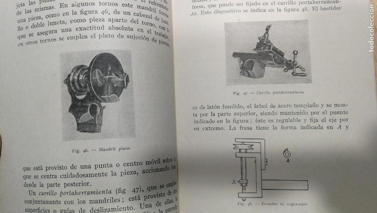 Herramientas de relojes: Tres magníficos libros para el estudiante del reloj y la relojería, tratados de diferentes décadas - Foto 23 - 156734558