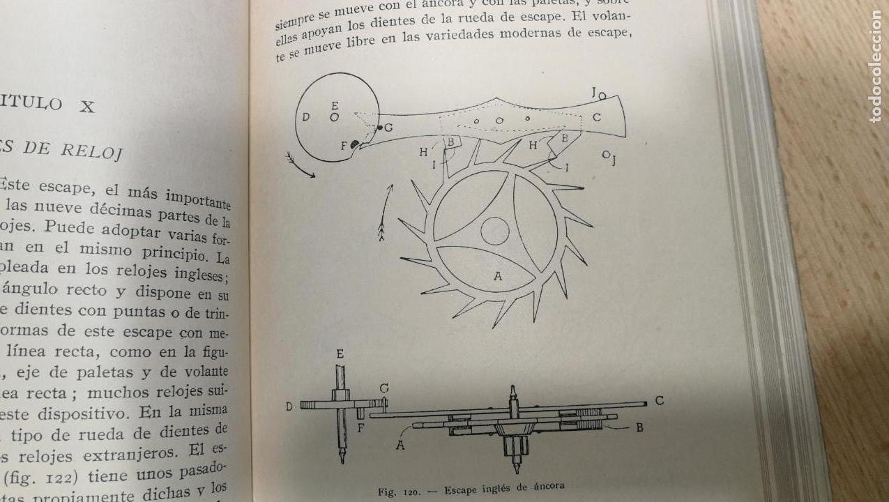 Herramientas de relojes: Tres magníficos libros para el estudiante del reloj y la relojería, tratados de diferentes décadas - Foto 28 - 156734558