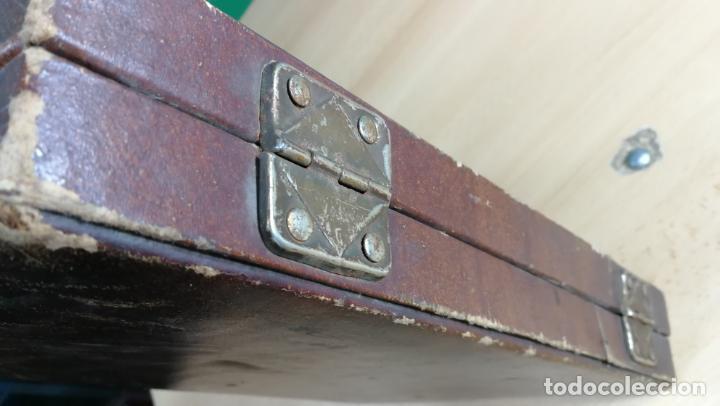 Herramientas de relojes: Botita caja ideal para guardar relojes, fornituras, billetes o pequeñas colecciones - Foto 14 - 160194246