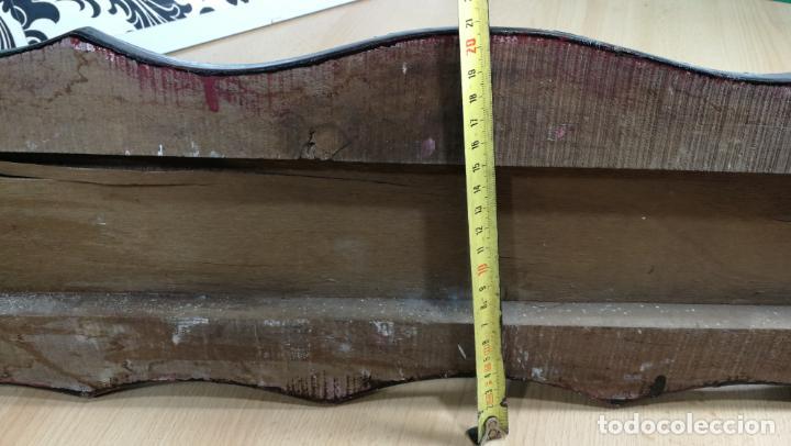 Herramientas de relojes: Percha antigua de madera utilizada en una relojería ya cerrada hace años, PARA RESTAURAR - Foto 38 - 160196238