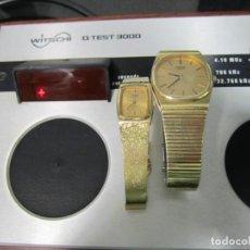 Herramientas de relojes: CRONOCOMPARADOR PARA RELOJES DE QUARZO-WITSCHI Q-TEST 3000. Lote 160748638