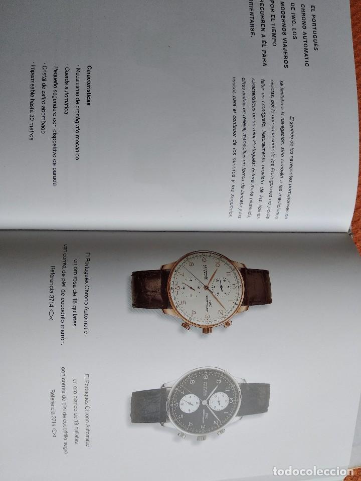 LIBRO IWC 125 AÑOS, 2001-2002 (Relojes - Herramientas y Útiles de Relojero )