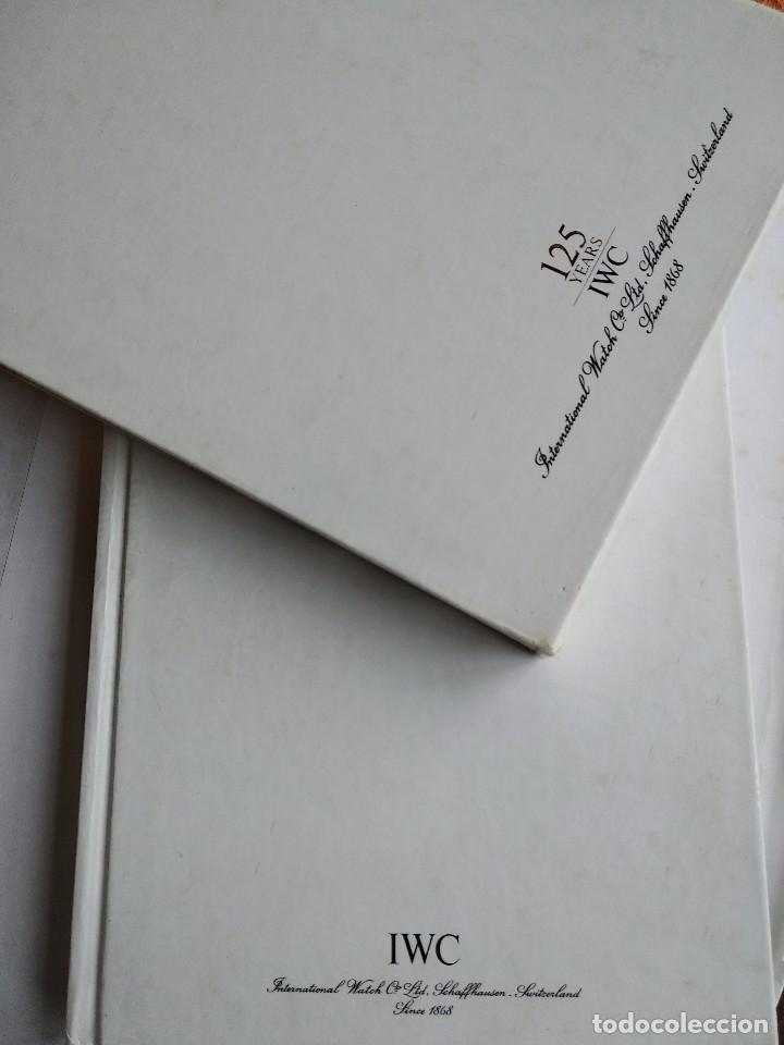 Herramientas de relojes: Libro IWC 125 años, 2001-2002 - Foto 3 - 160845082