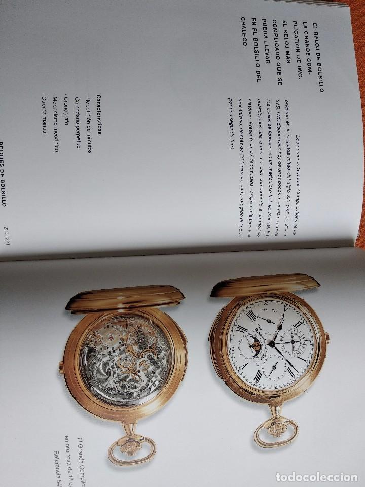 Herramientas de relojes: Libro IWC 125 años, 2001-2002 - Foto 5 - 160845082