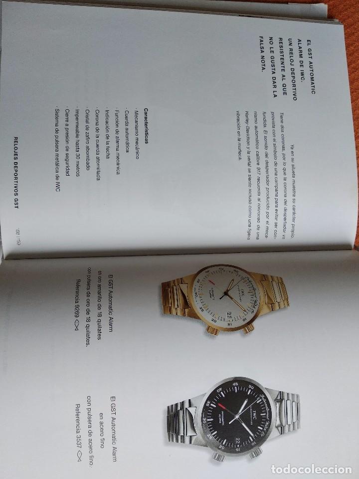 Herramientas de relojes: Libro IWC 125 años, 2001-2002 - Foto 7 - 160845082