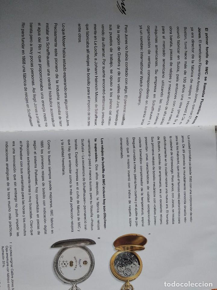 Herramientas de relojes: Libro IWC 125 años, 2001-2002 - Foto 9 - 160845082
