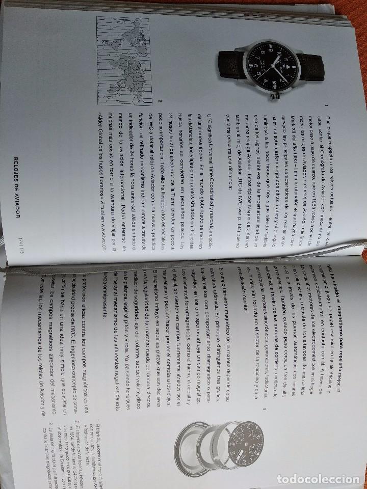 Herramientas de relojes: Libro IWC 125 años, 2001-2002 - Foto 10 - 160845082