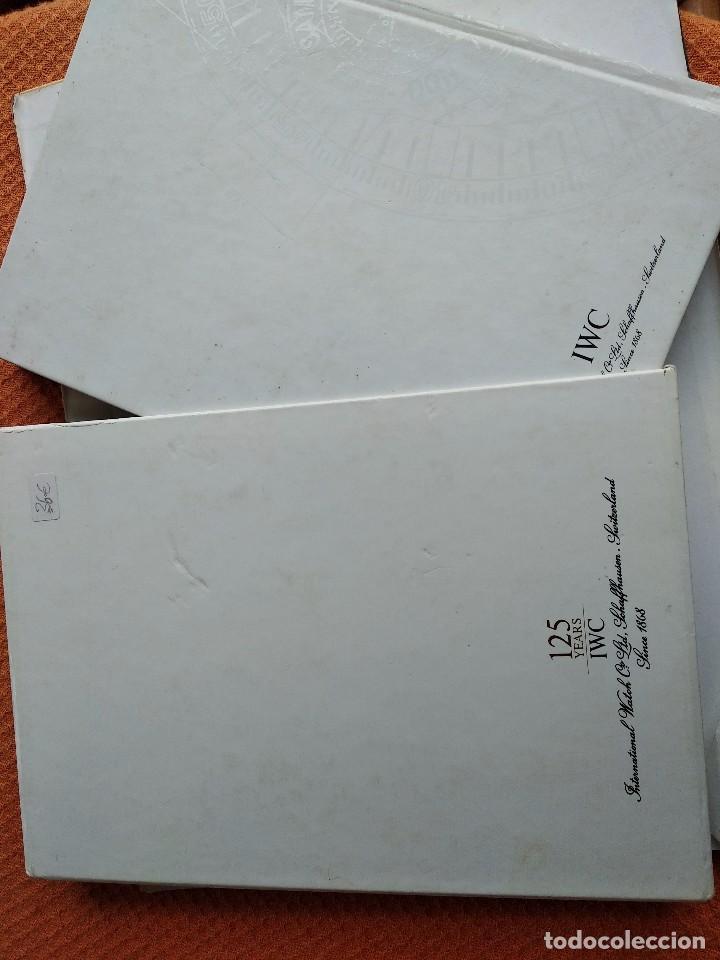 Herramientas de relojes: Libro IWC 125 años, 2001-2002 - Foto 11 - 160845082