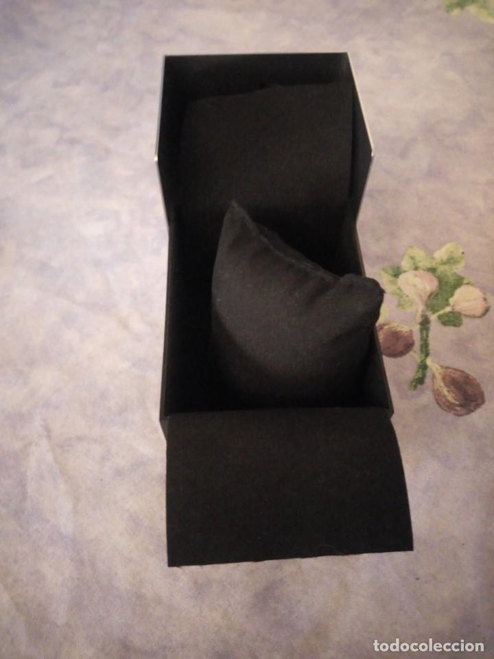 Herramientas de relojes: Caja de cartón y metal para reloj calvin klein,completa - Foto 4 - 164999458