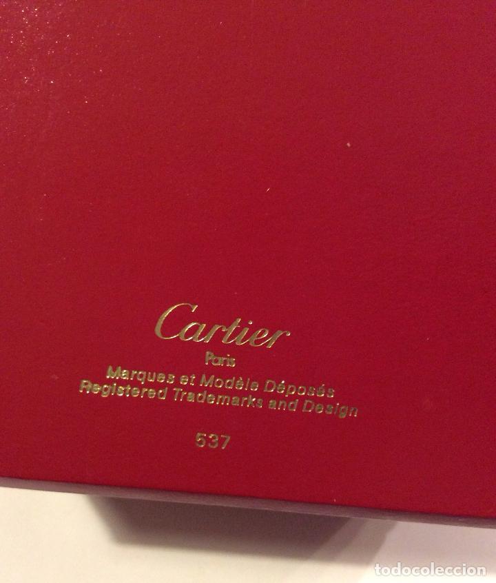 Herramientas de relojes: CARTIER PARIS CAJA DE RELOJ ORIGINAL,IDEAL COLECCIONISTAS - Foto 3 - 165976294