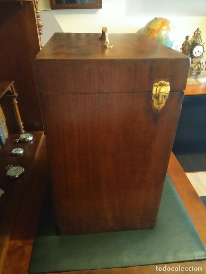 Herramientas de relojes: Mueble (armario) de relojero en madera - Foto 4 - 166782534