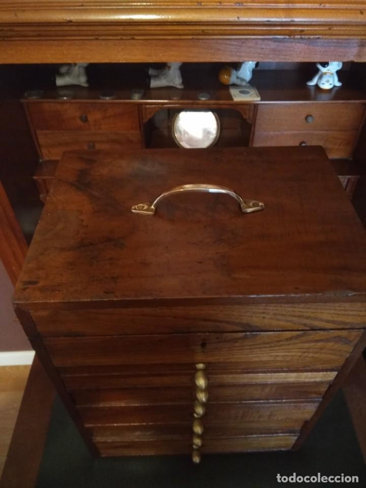 Herramientas de relojes: Mueble (armario) de relojero en madera - Foto 8 - 166782534