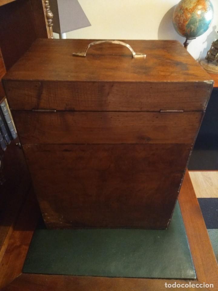 Herramientas de relojes: Mueble (armario) de relojero en madera - Foto 15 - 166782534