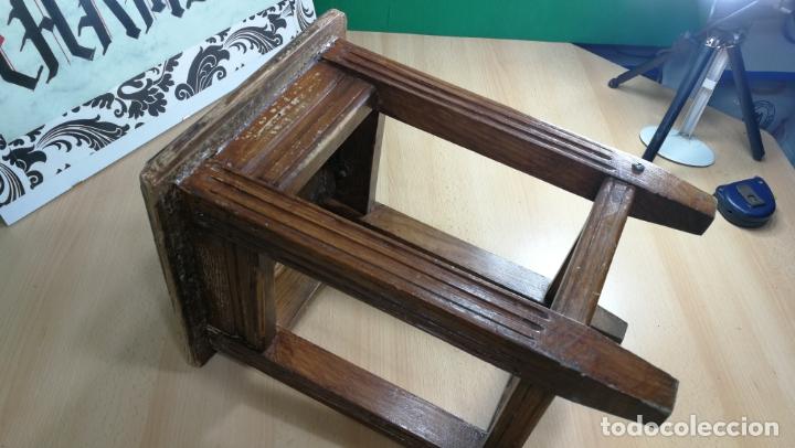 Herramientas de relojes: TABURETE ANTIGUO PEQUEÑO estaba en TALLER RELOJERO - Foto 4 - 167835924