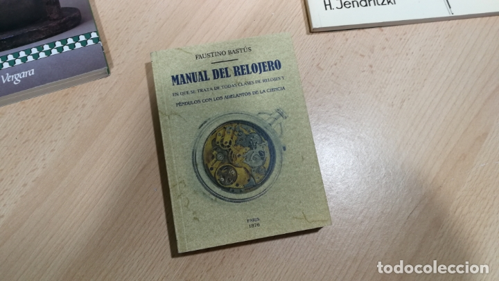 Herramientas de relojes: TRES GRANDES LIBROS DEL RELOJ, RELOJERÍA, DEL ARTE RELOJERO - Foto 4 - 167837412