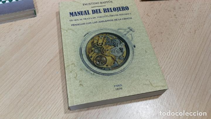Herramientas de relojes: TRES GRANDES LIBROS DEL RELOJ, RELOJERÍA, DEL ARTE RELOJERO - Foto 6 - 167837412