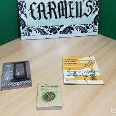 Herramientas de relojes: TRES GRANDES LIBROS DEL RELOJ, RELOJERÍA, DEL ARTE RELOJERO. Lote 167837412