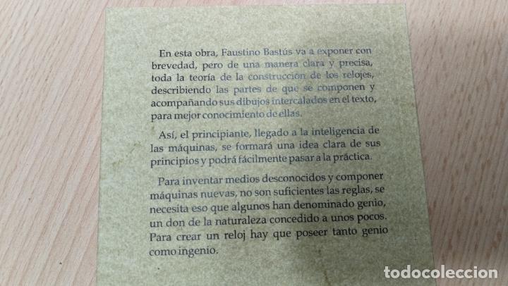 Herramientas de relojes: TRES GRANDES LIBROS DEL RELOJ, RELOJERÍA, DEL ARTE RELOJERO - Foto 10 - 167837412