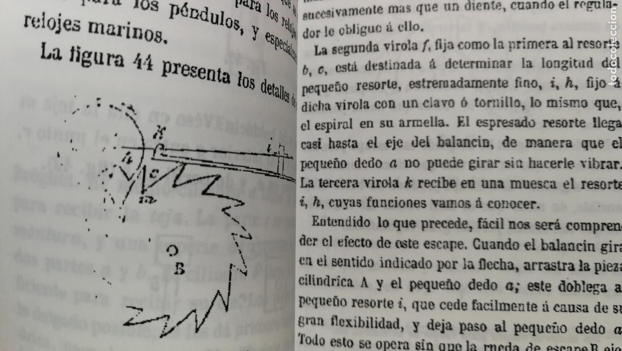 Herramientas de relojes: TRES GRANDES LIBROS DEL RELOJ, RELOJERÍA, DEL ARTE RELOJERO - Foto 15 - 167837412