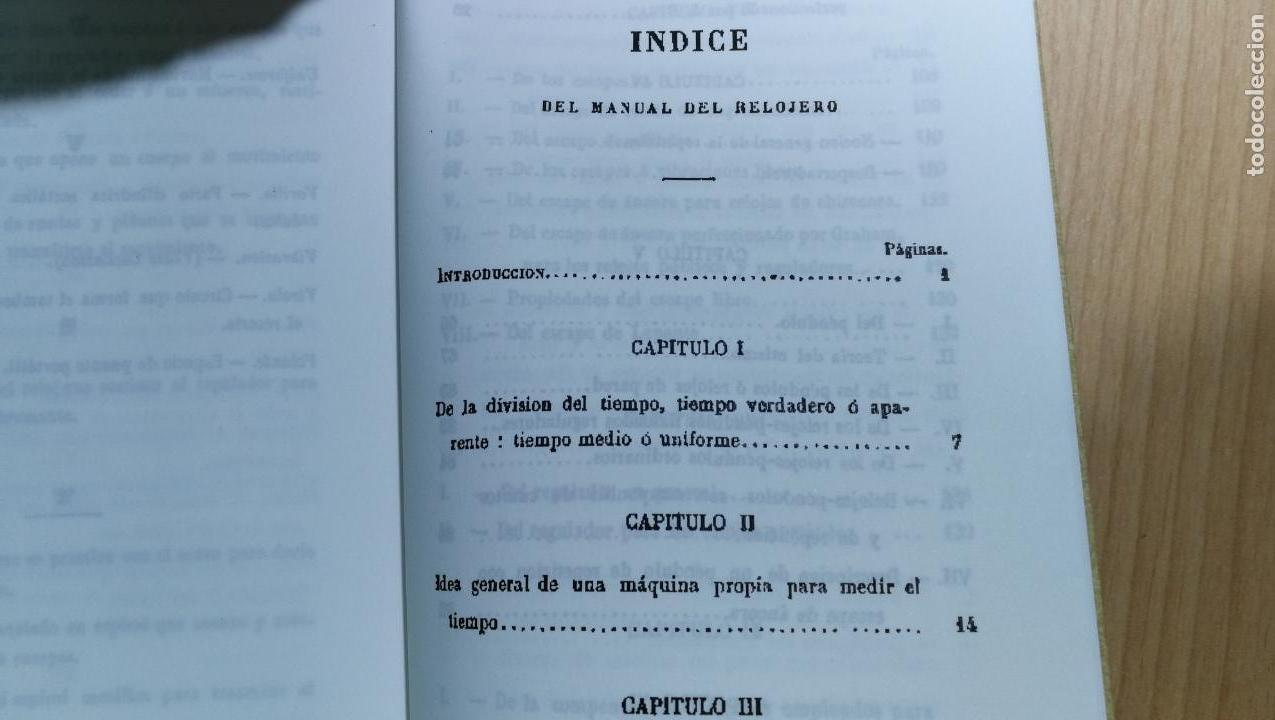 Herramientas de relojes: TRES GRANDES LIBROS DEL RELOJ, RELOJERÍA, DEL ARTE RELOJERO - Foto 20 - 167837412