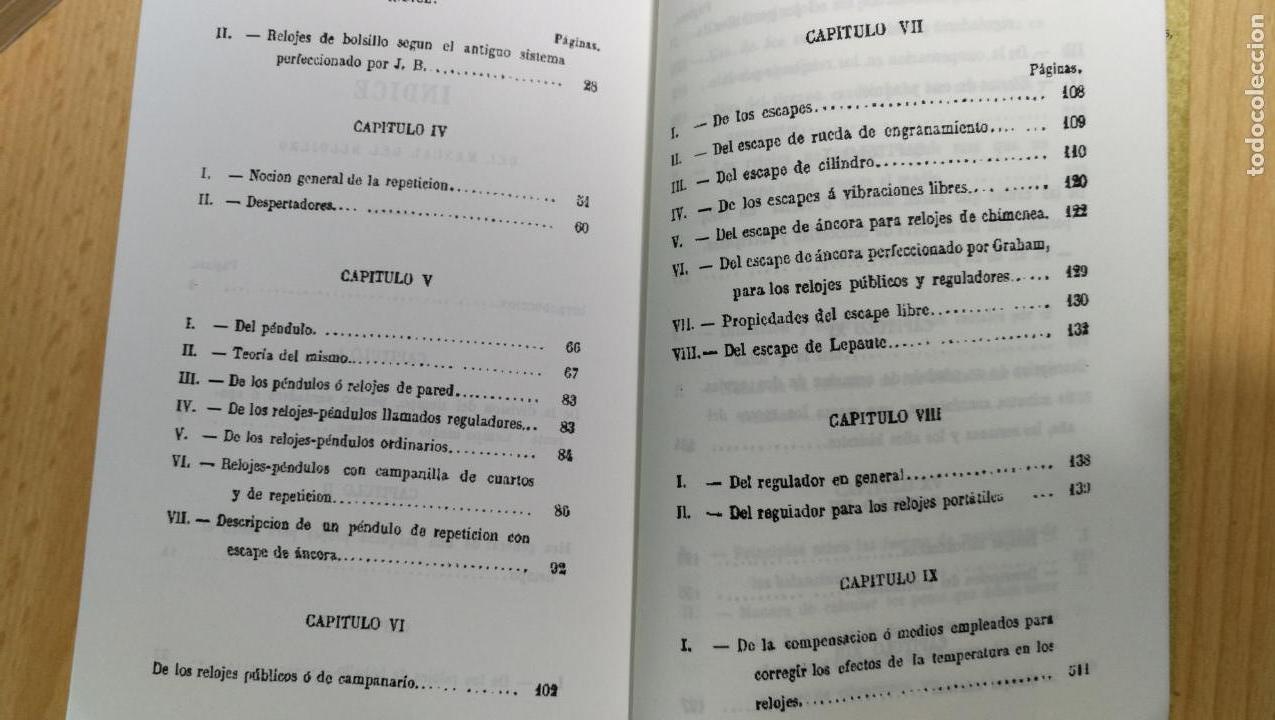 Herramientas de relojes: TRES GRANDES LIBROS DEL RELOJ, RELOJERÍA, DEL ARTE RELOJERO - Foto 21 - 167837412