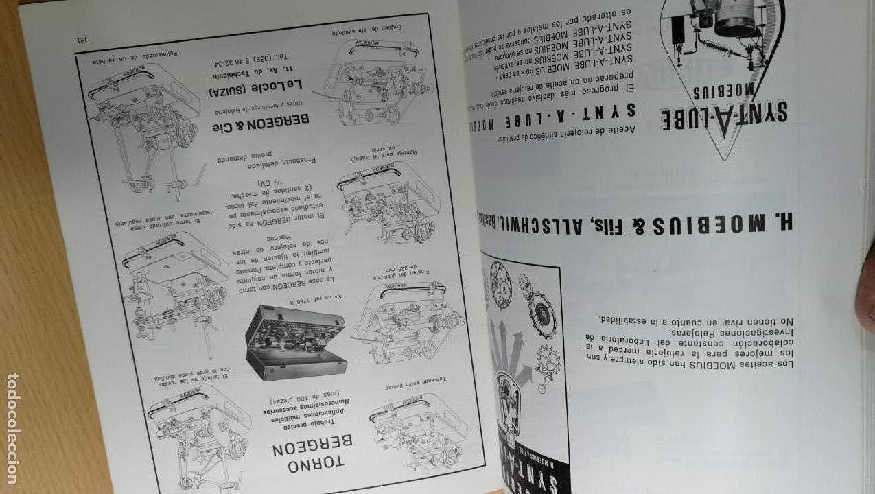Herramientas de relojes: TRES GRANDES LIBROS DEL RELOJ, RELOJERÍA, DEL ARTE RELOJERO - Foto 51 - 167837412