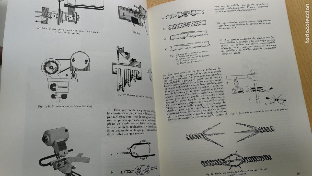 Herramientas de relojes: TRES GRANDES LIBROS DEL RELOJ, RELOJERÍA, DEL ARTE RELOJERO - Foto 53 - 167837412